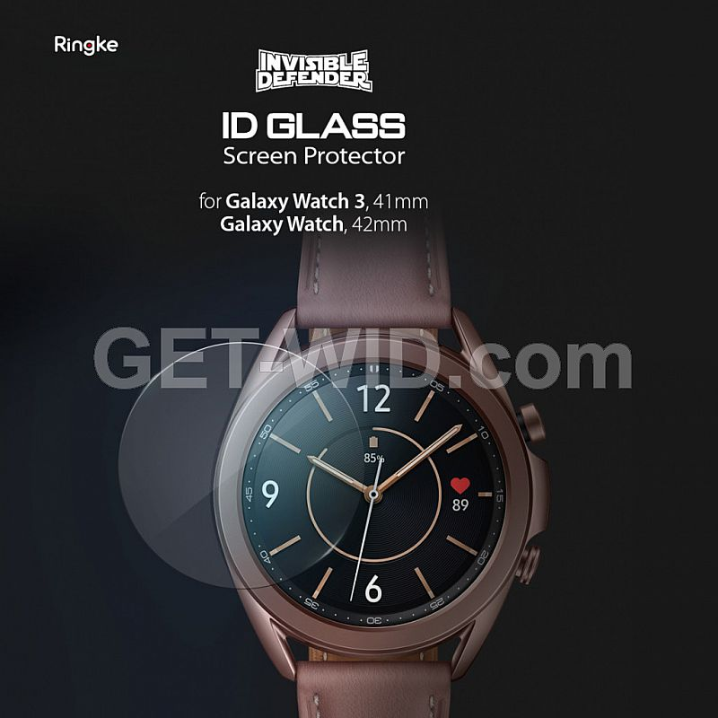 Tempered Glass Galaxy Watch 3 Ringke ID Glass Anti Gores
