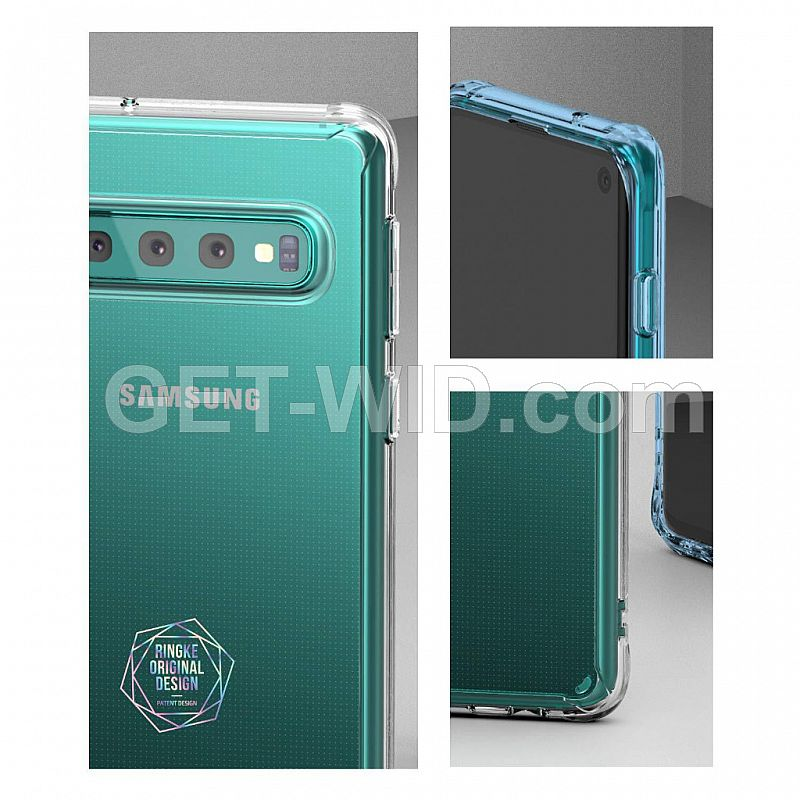 Case Galaxy S10 Plus Ringke Fusion
